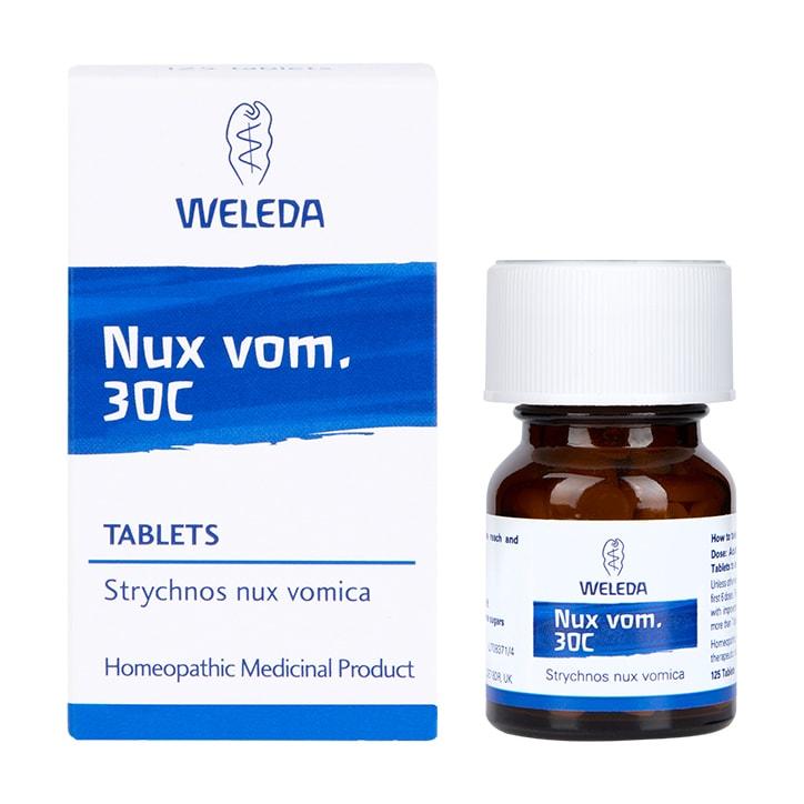 Weleda Nux. Vom 30c 125 Tablets