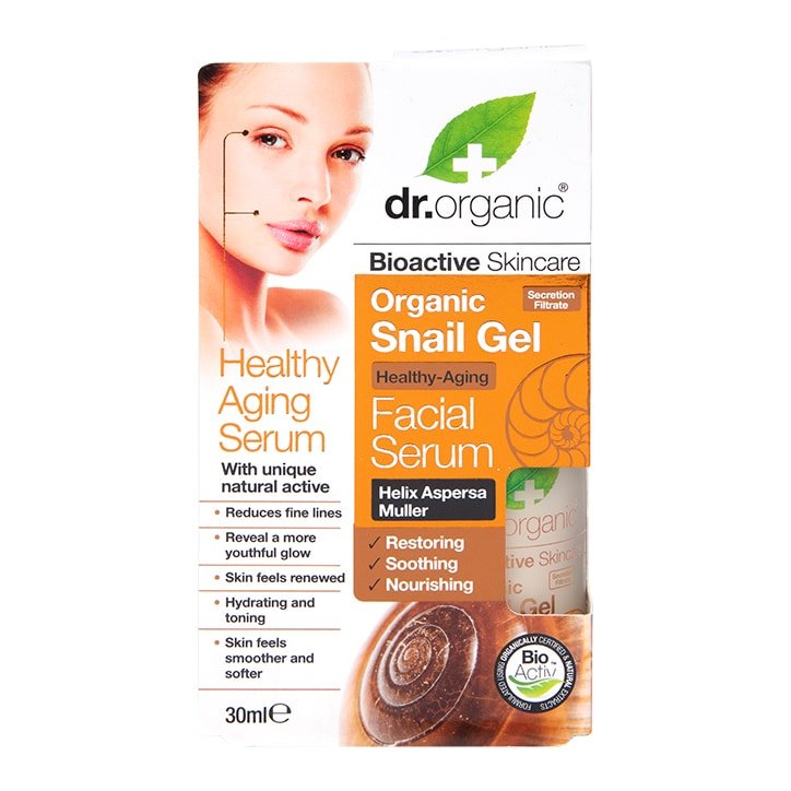Dr Organic Snail Gel Face Serum Anti-Aging 30ml