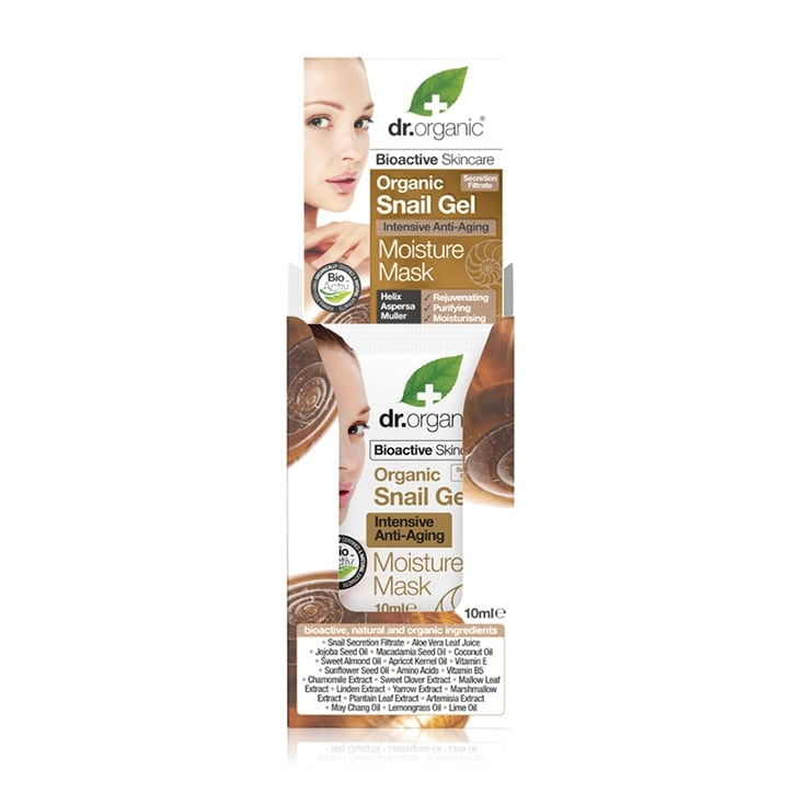 Dr Organic Snail Gel Intensive Anti-Aging Moisture Mask 10ml
