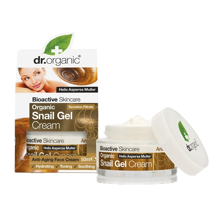 Dr Organic Snail Gel Cream