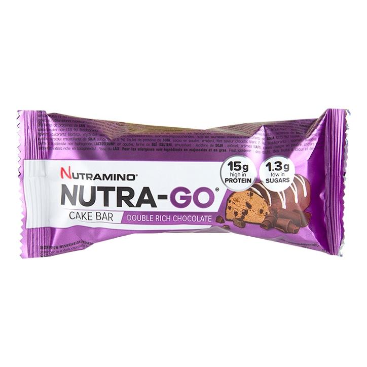 Nutramino Nutra-Go Cake Bar Double Chocolate 57g
