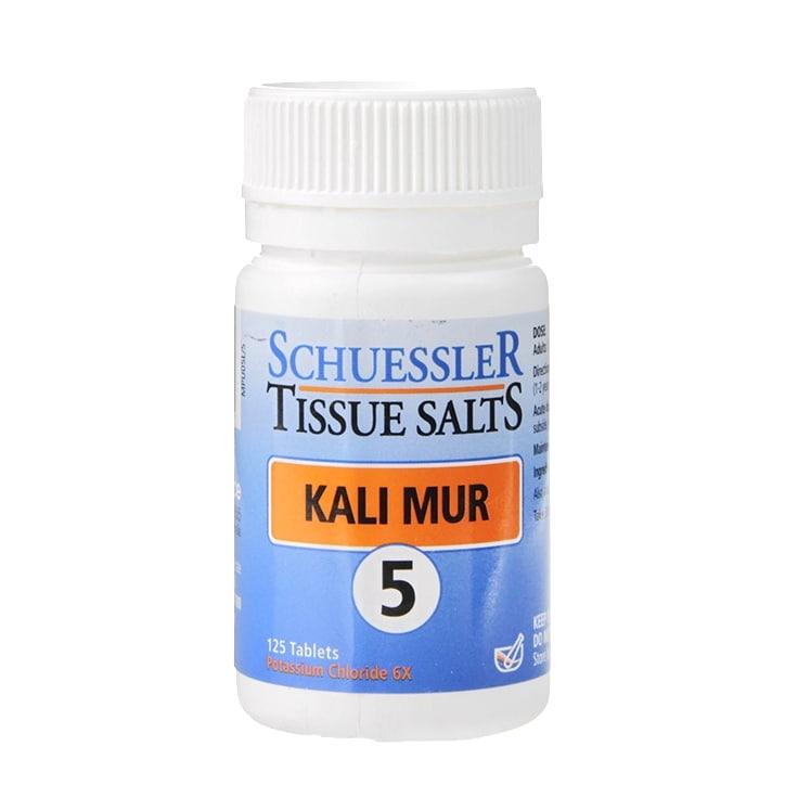 Schuessler Tissue Salts Kali Mur 5 125 Tablets