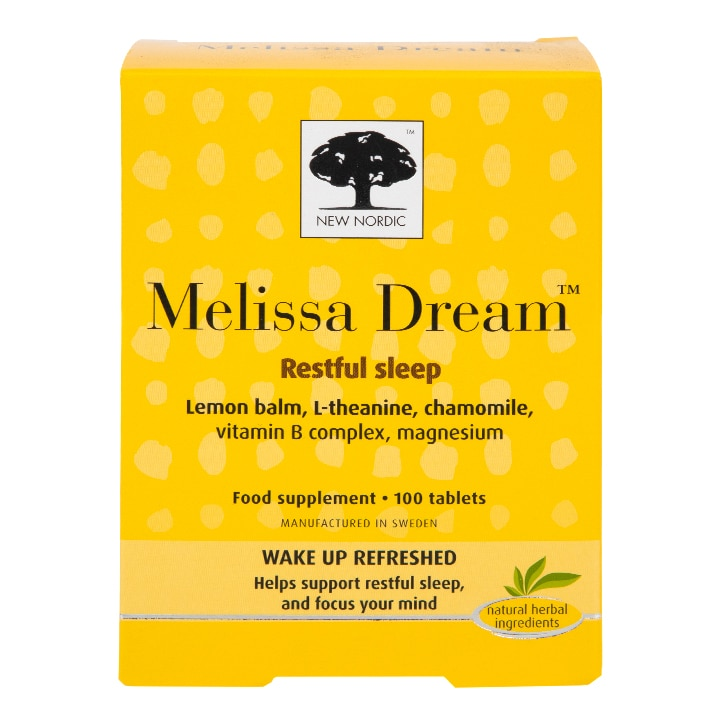 New Nordic Melissa Dream 100 Tablets
