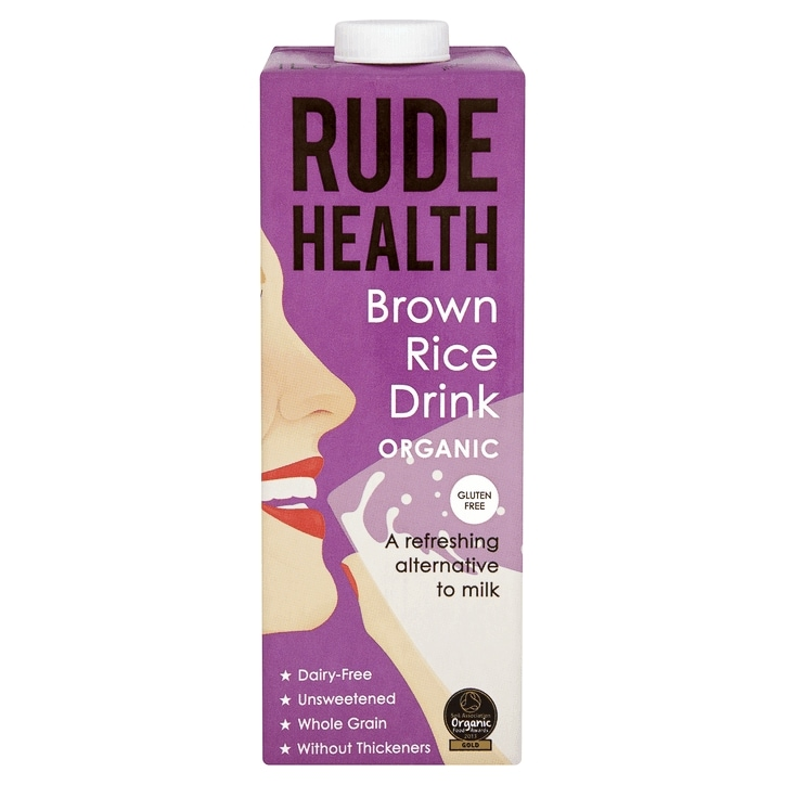 Rude Health Organic Brown Rice Drink 1 Litre