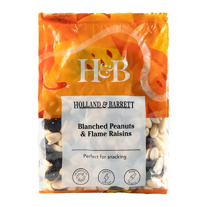 Holland & Barrett Blanched Peanuts & Flame Raisins 1kg