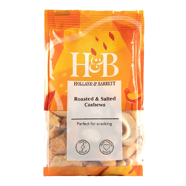 Holland & Barrett Roasted & Salted Cashew Nuts