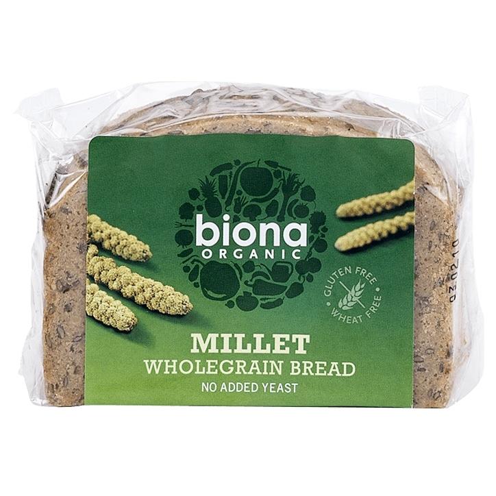 Biona Organic Millet Wholegrain Bread 250g