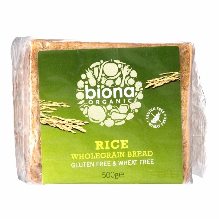 Biona Organic Gluten Free Rice Bread 500g
