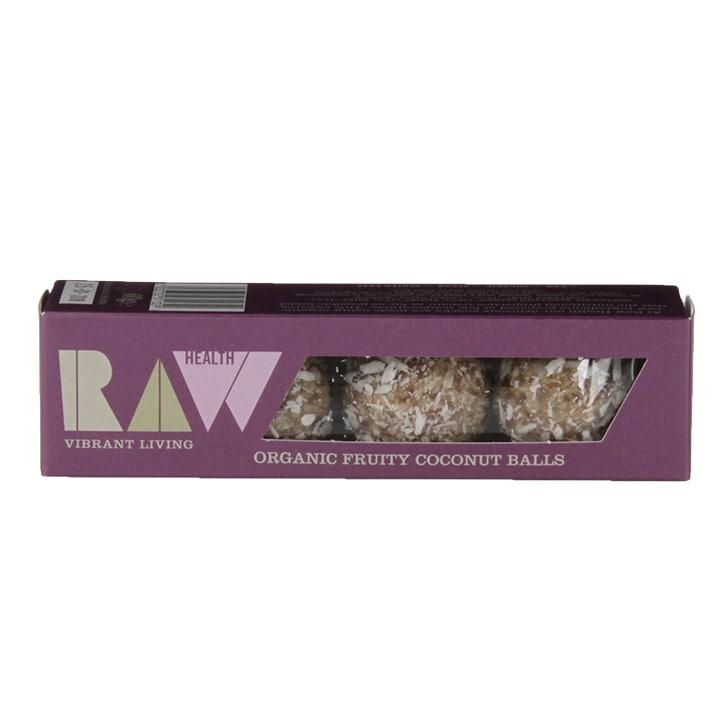 Raw Health Organic Fruity Coconut Energy Balls 60g