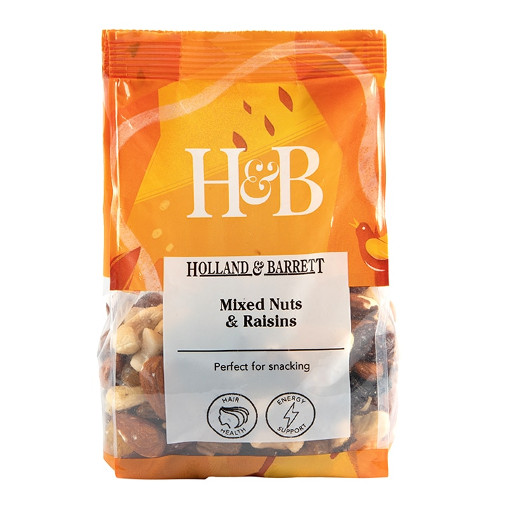 Holland & Barrett Mixed Nuts & Raisins