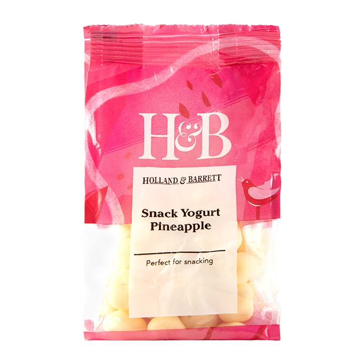 Holland & Barrett Snack Yogurt Pineapple