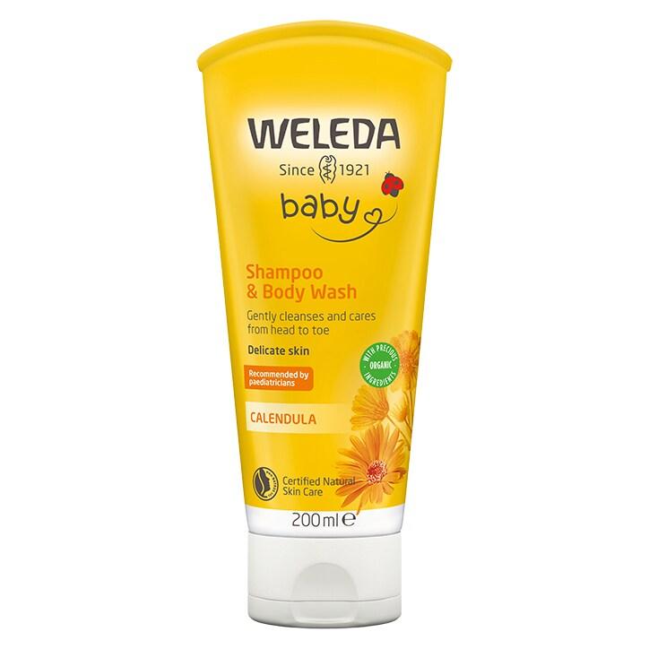 weleda calendula baby shampoo