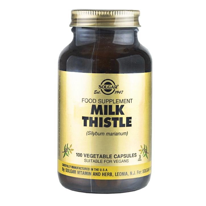 Solgar Milk Thistle 100 Vegetable Capsules