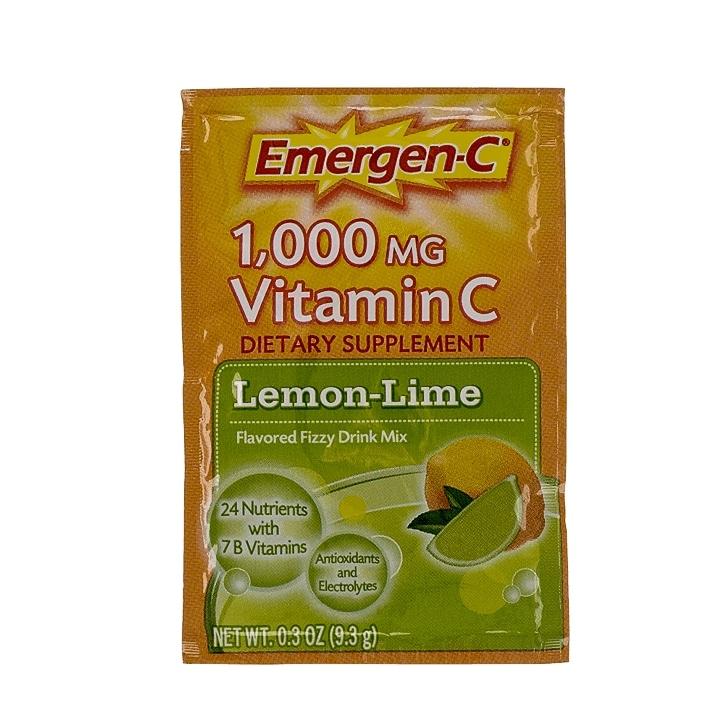 EmergenC Lemon Lime Flavoured Vitamin C Fizzy Drink Mix