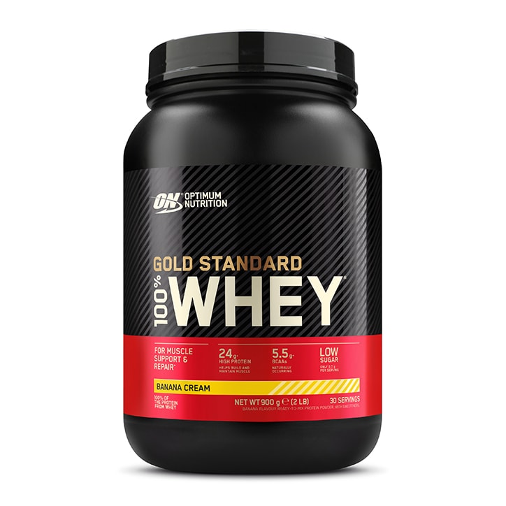 Optimum Nutrition Gold Standard 100% Whey Powder Banana Cream