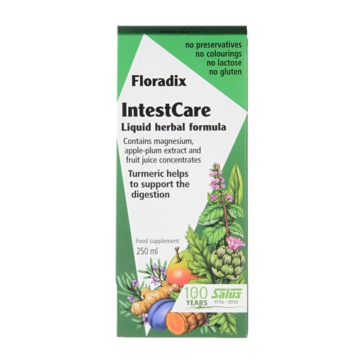 Floradix Intestcare Liquid Herbal Formula 250ml