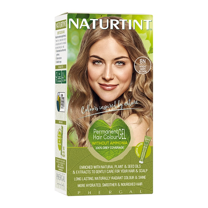 Naturtint Permanent Hair Colour 8N Wheatgerm Blonde