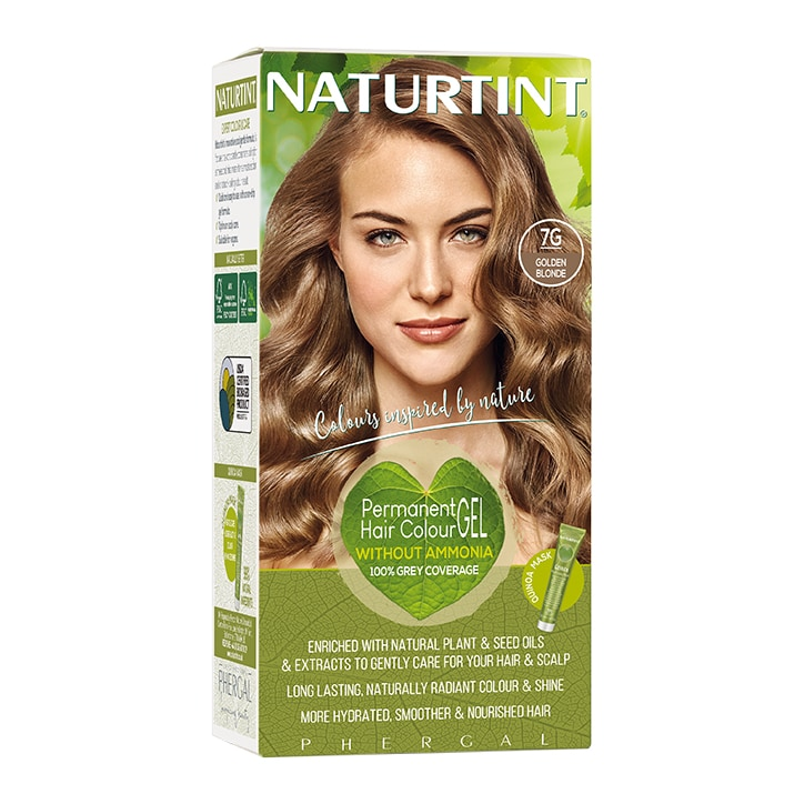 Naturtint Permanent Hair Colour 7G (Golden Blonde)