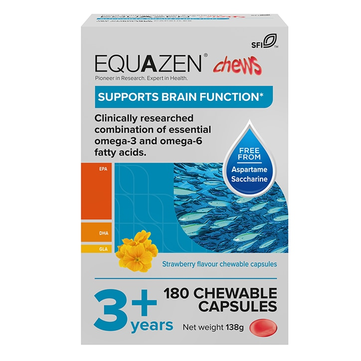 Equazen Eye Q Children's Chewable 180 Capsules