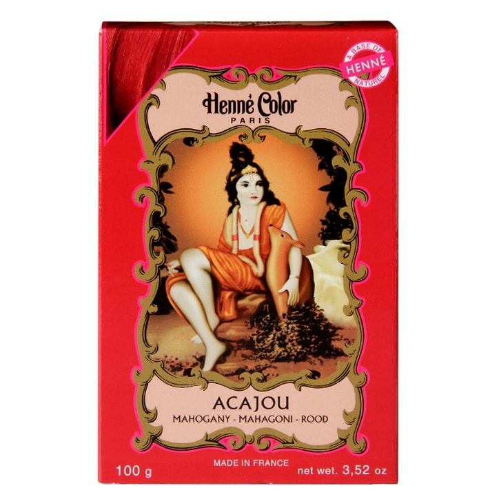 Henne Color Henna Powder Hair Colour Mahogany Red 100g