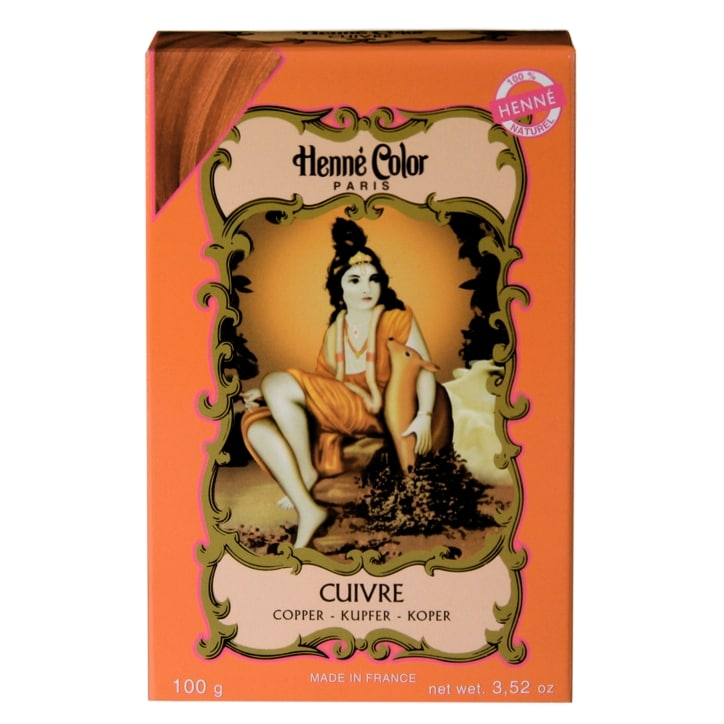Henne Color Henna Powder Hair Colour Copper Red 100g