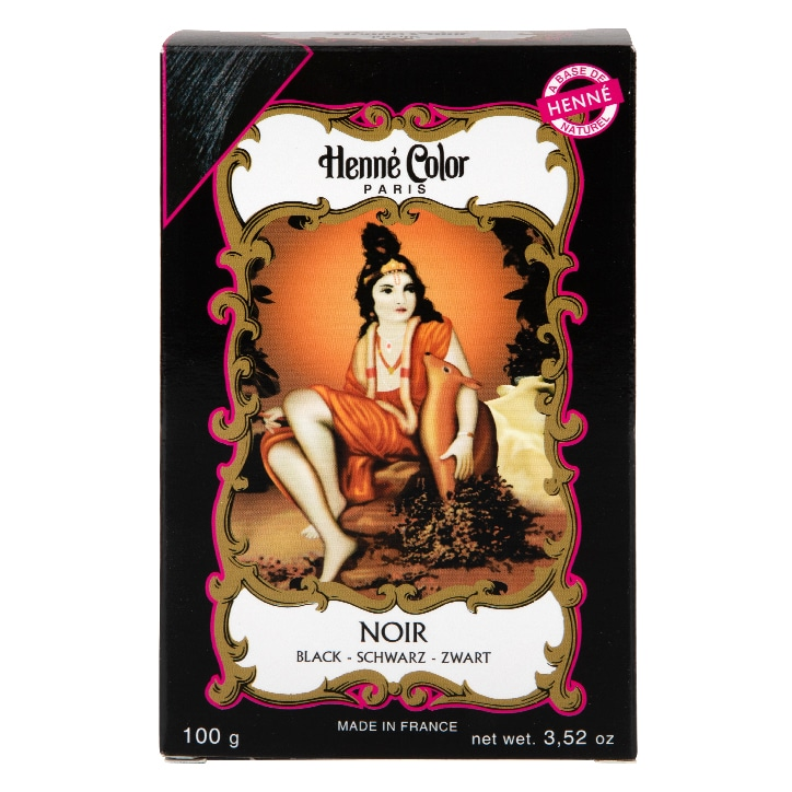 Henne Color Henna Powder Hair Colour Black 100g