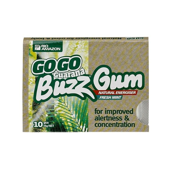Rio Amazon GoGo Guaraná Buzz Gum Fresh Mint