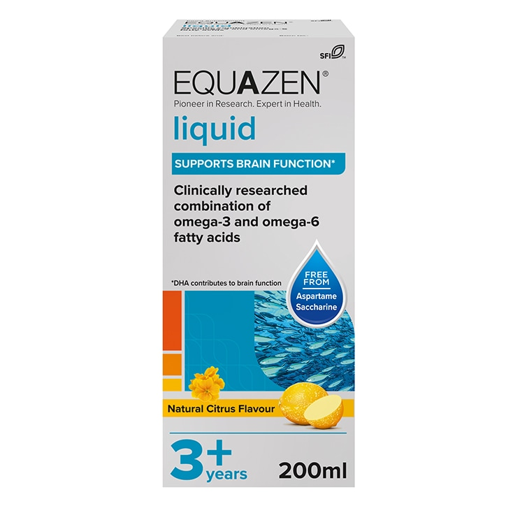 Equazen Eye Q Children's Liquid Citrus 200ml