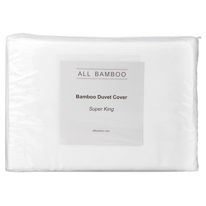 All Bamboo Duvet Cover Super King