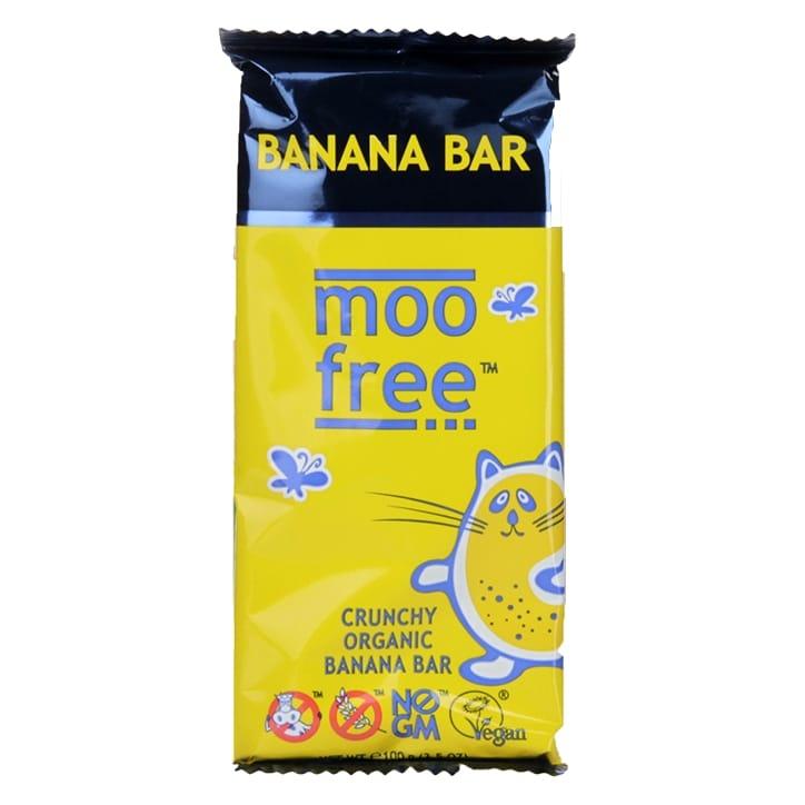 Moo Free Organic Bar Crunchy Banana 100g