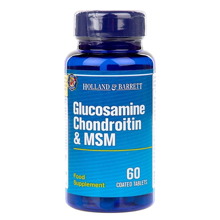 Holland & Barrett Glucosamine Chondroitin & MSM 60 Caplets