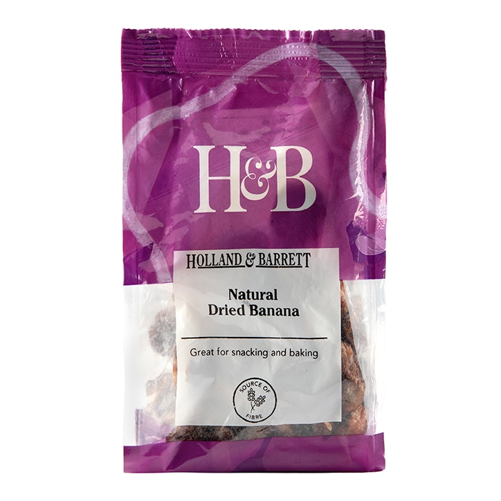 Holland & Barrett Natural Dried Banana 125g