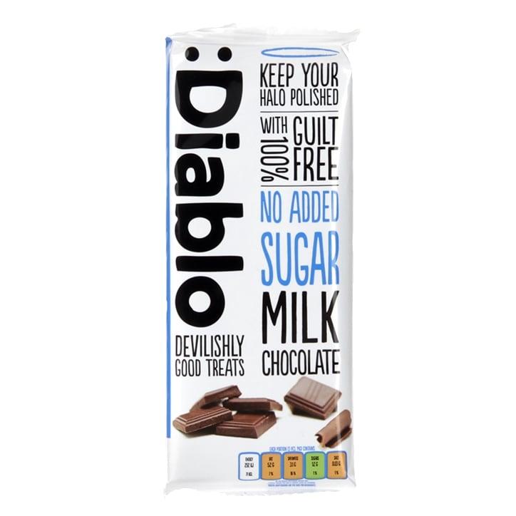 Diablo No Added Sugar Milk Chocolate Bar 85g