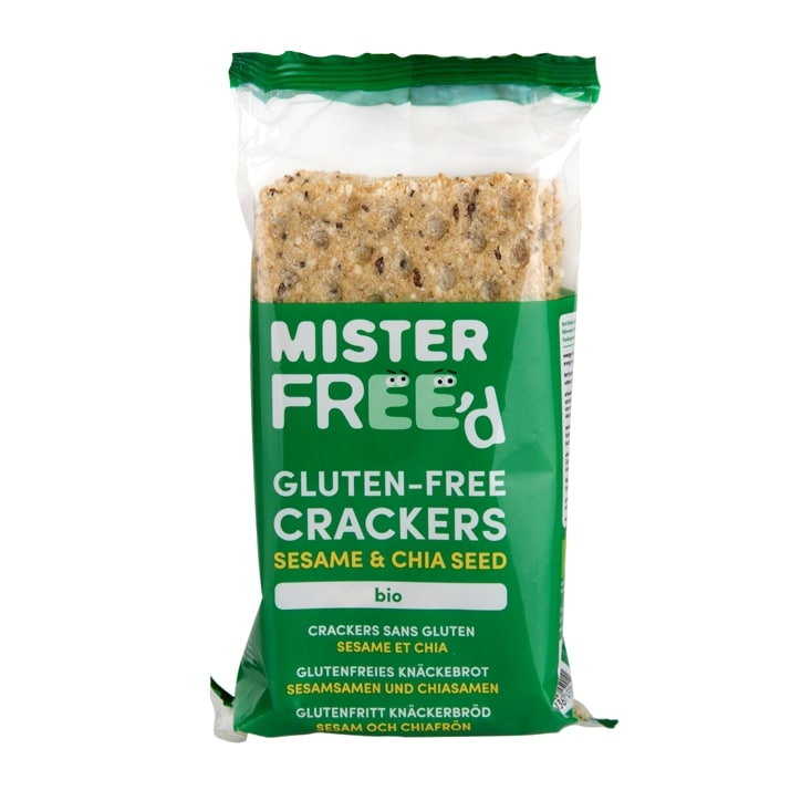 Mister Free'd Gluten Free Crackers Sesame & Chia Seed