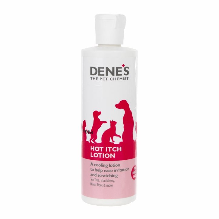 Denes Hot Itch Lotion for Cats & Dogs