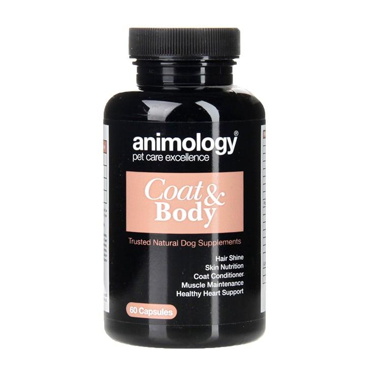 Animology Coat & Body Supplement 60 Capsules
