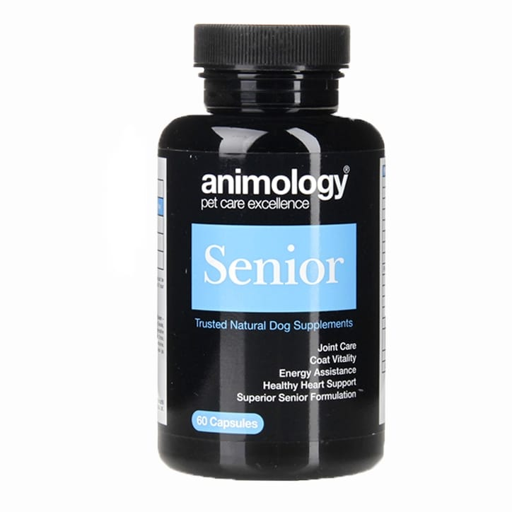 Animology Senior Supplement 60 Capsules