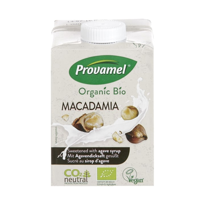 Provamel Organic Macadamia Drink Sweetened with Agave Syrup