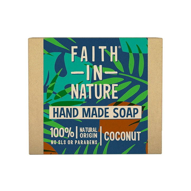 Faith in Nature Coconut Soap 100g