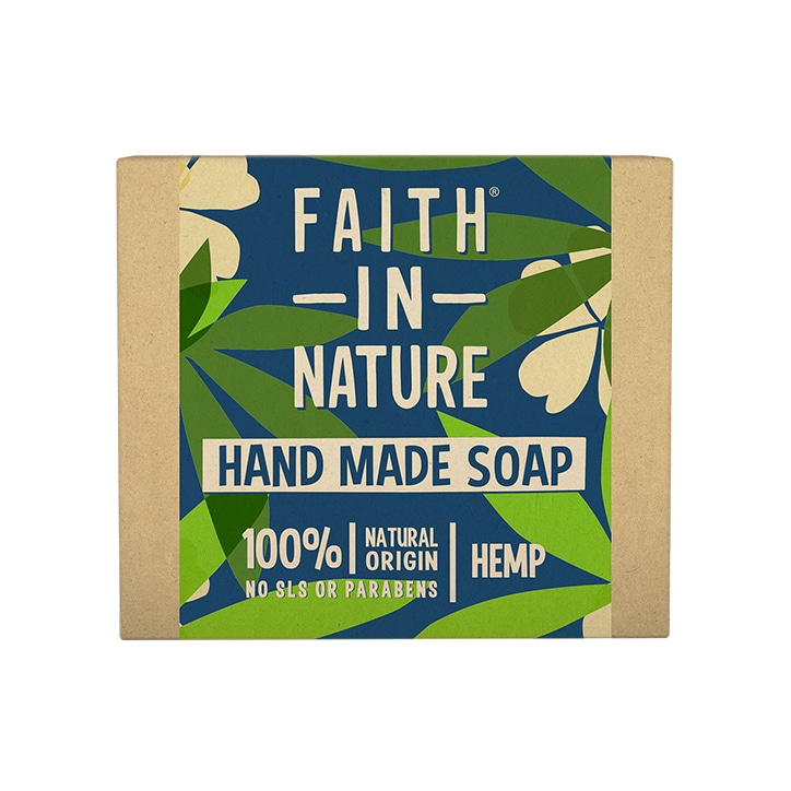 Faith in Nature Hemp with Green Tea Soap 100g