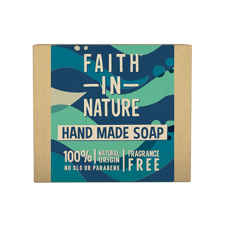Faith in Nature Unfragranced Seaweed Soap 100g