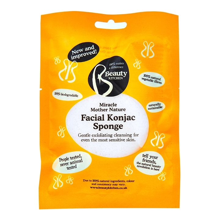 Beauty Kitchen Miracle Mother Nature Facial Konjac Sponge
