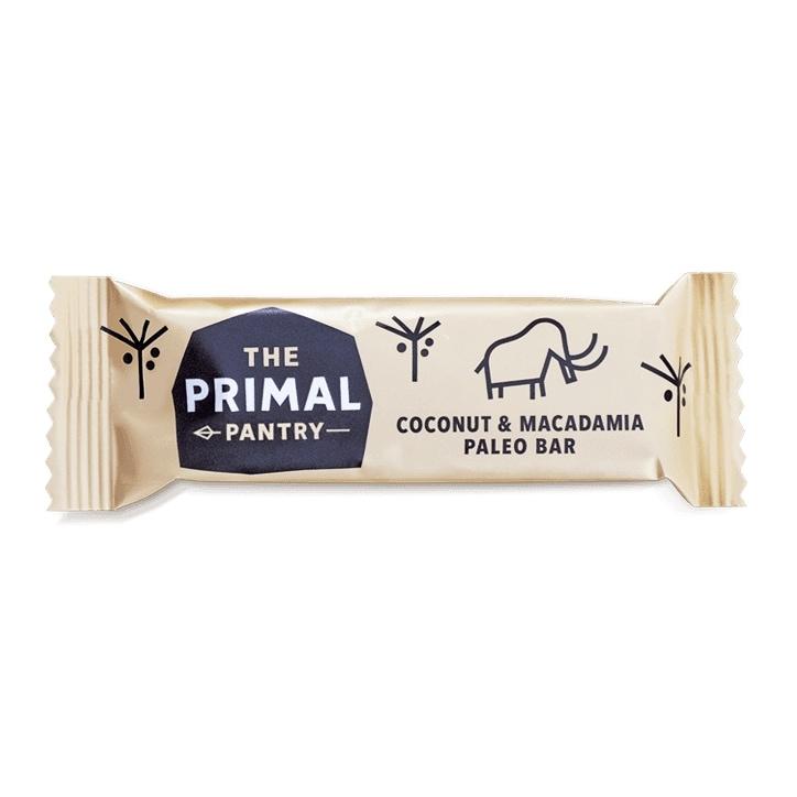 Primal Pantry Coconut & Macadamia Paleo Bar 45g