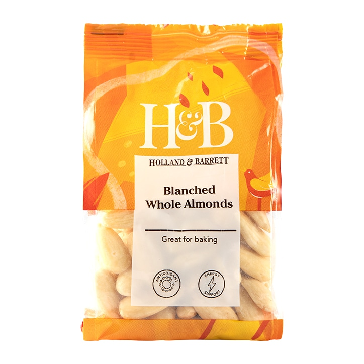 Holland & Barrett Blanched Whole Almonds 100g