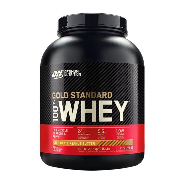 Optimum Nutrition Gold Standard 100% Whey Powder Chocolate Peanut Butter