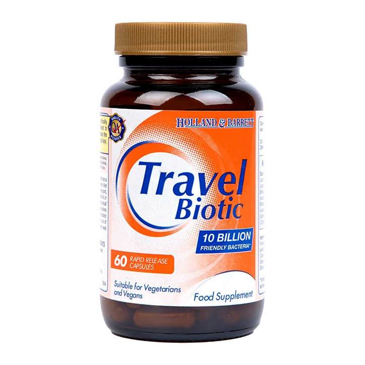Holland & Barrett Travel Biotic 60 Capsules