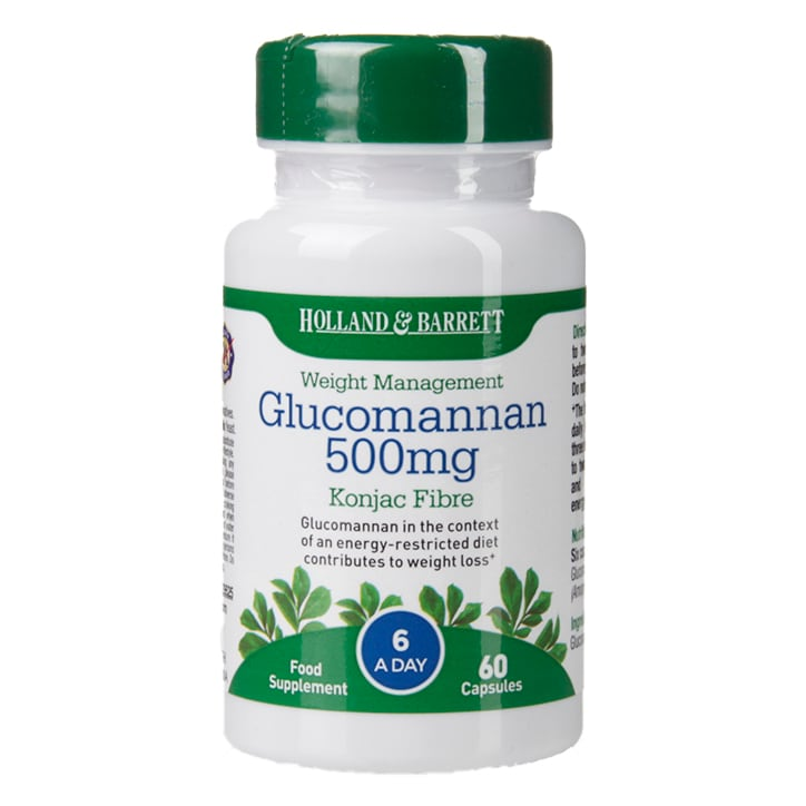Holland & Barrett Glucomannan 500mg