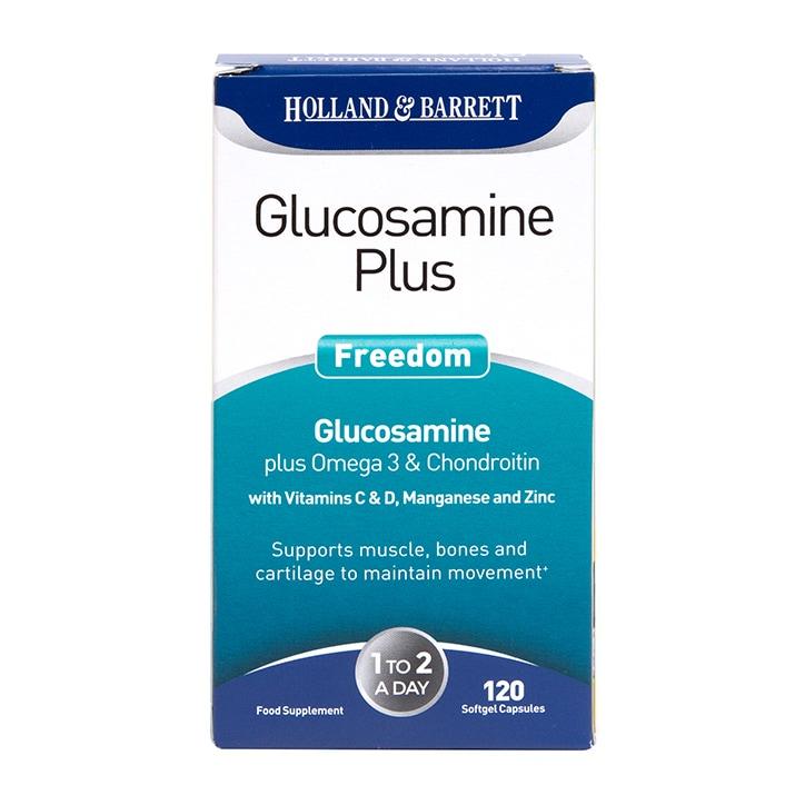 Holland & Barrett Glucosamine Plus Freedom 120 Capsules