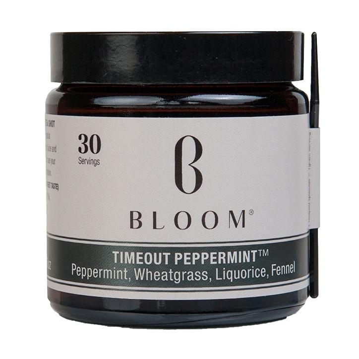 Bloom Timeout Peppermint Tea Powder