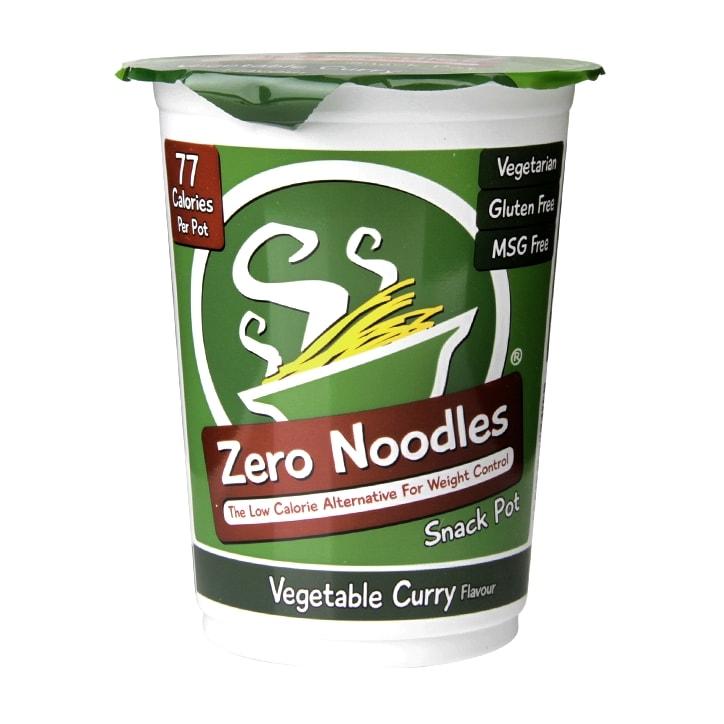 Zero Noodles Vegetable Curry Snack Pot